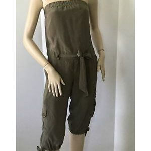 INC Silk Jumpsuit